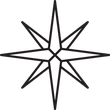 Wind Rose icon - Boatswain level
